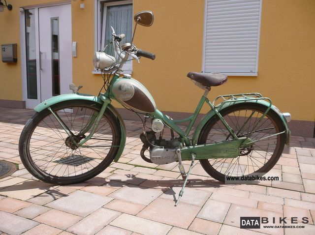 Other  Champion moped M45S Saxonia 1954 Vintage, Classic and Old Bikes photo
