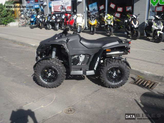 2012 Dinli  EVO with 800 full-time warranty Motorcycle Quad photo