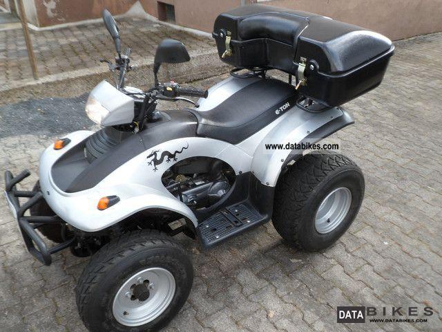 2006 E-Ton  EXL150 Motorcycle Quad photo
