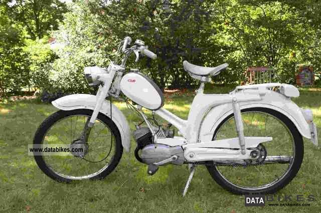 1965 DKW  Moped Motorcycle Motor-assisted Bicycle/Small Moped photo