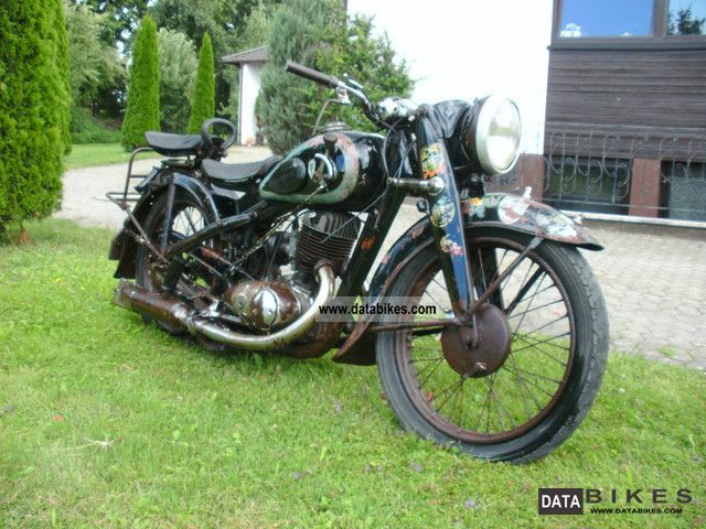 DKW  NZ 350 1952 Vintage, Classic and Old Bikes photo