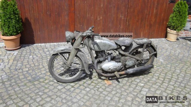 DKW  DKW NZ 350 probably collected 1939 Vintage, Classic and Old Bikes photo