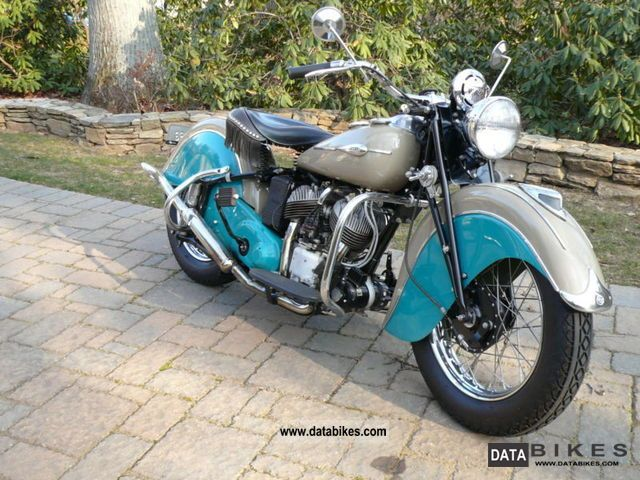 Indian  Sport Scout 750 1941 Vintage, Classic and Old Bikes photo