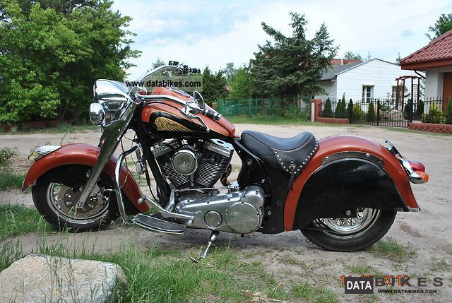 Indian  CHIEF T3, 17 of 50 2003 Chopper/Cruiser photo