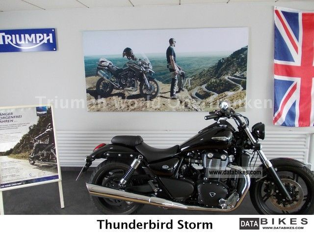 2012 Triumph  Thunderbird Storm Motorcycle Chopper/Cruiser photo