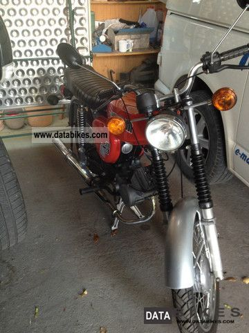 2012 Simson  S51B Motorcycle Motor-assisted Bicycle/Small Moped photo