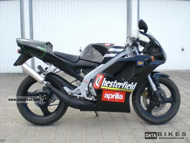 1996 Aprilia  RS 50 Replica Chesterfield Motorcycle Scooter photo