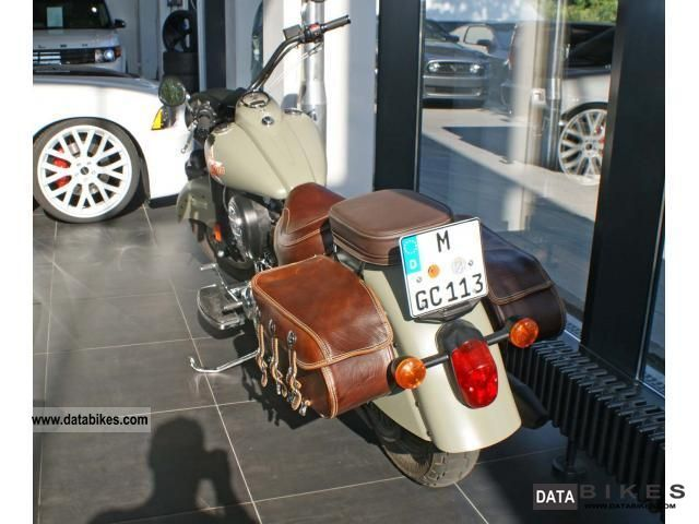 2009 Indian  Bomber Limited Edition Motorcycle Motorcycle photo