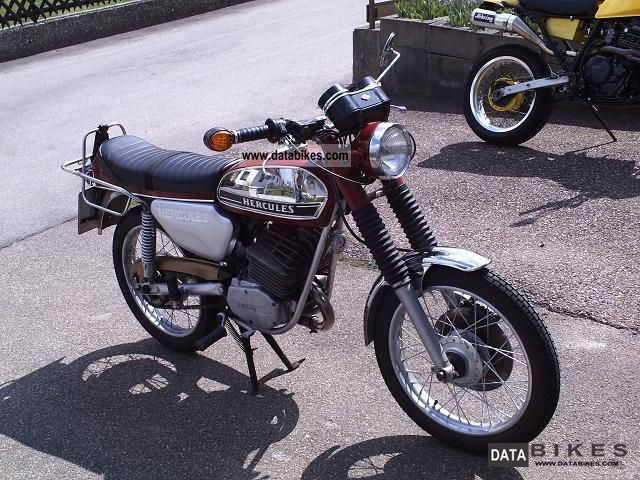 Hercules  125S 1973 Vintage, Classic and Old Bikes photo