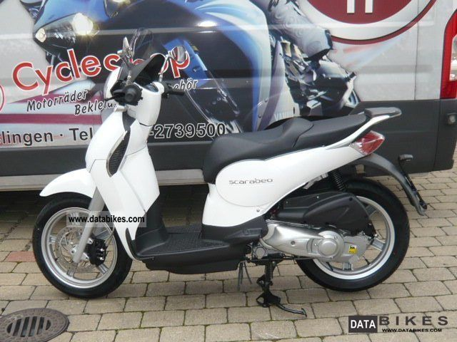 2012 Aprilia  Scarabeo ie 125th, ready for immediate dispatch! Motorcycle Scooter photo
