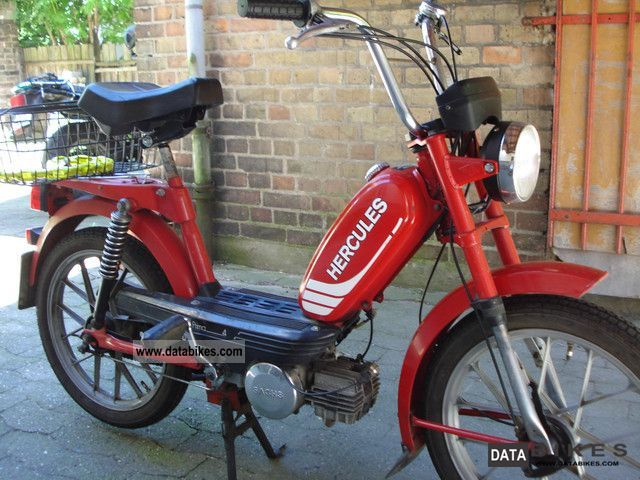 1982 Herkules  Prima 4 S Motorcycle Motor-assisted Bicycle/Small Moped photo