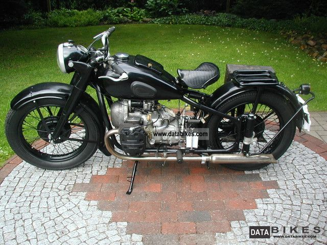 Ural  M72 1954 Vintage, Classic and Old Bikes photo