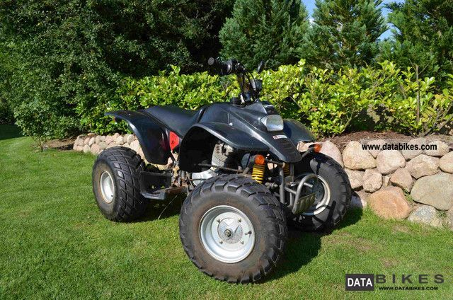 2003 Adly  RAM 150cc 4 speed manual gas Motorcycle Quad photo