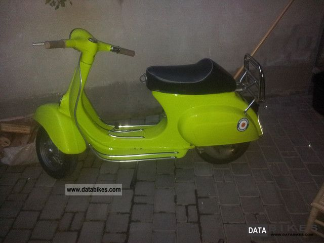 1974 Vespa  v 50 n with power Motorcycle Scooter photo