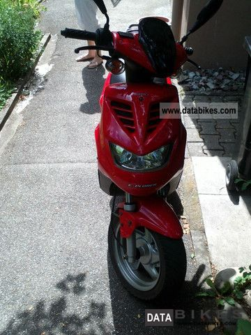 2007 Explorer  Spin 50 Motorcycle Scooter photo