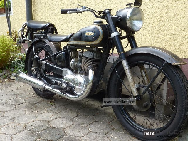 Triumph  BDG 250 H 1952 Vintage, Classic and Old Bikes photo
