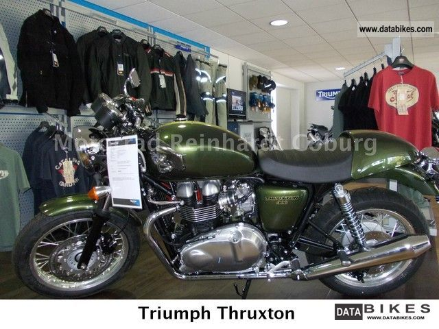 Triumph  Thruxton 2012 Motorcycle photo