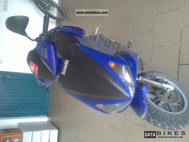 2002 Benelli  491 Motorcycle Scooter photo