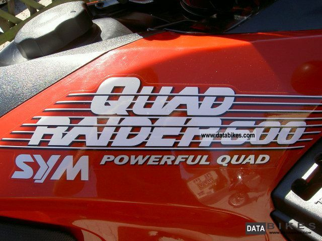2010 SYM Quad 600 4x4 Raider LOF