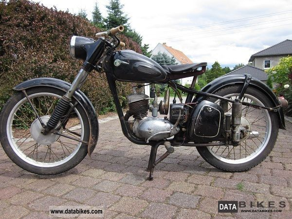 Mz  RT 1958 Vintage, Classic and Old Bikes photo