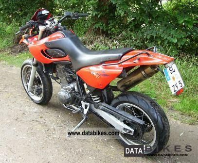 2001 Mz  baghira Motorcycle Super Moto photo