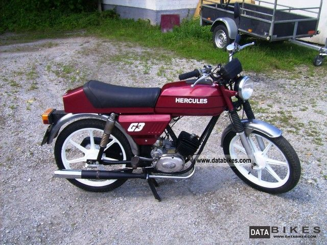1978 Hercules G3 Moped Best Restored Condition border=
