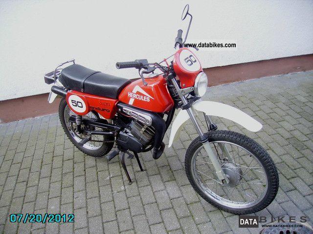 1982 Hercules  Supra Enduro Motorcycle Enduro/Touring Enduro photo