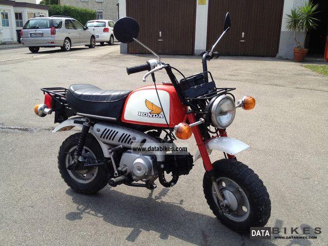 1980 Honda  Monkey Z50J Motorcycle Motor-assisted Bicycle/Small Moped photo