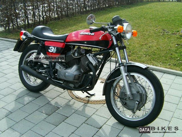 Moto Morini  350 Sports 1975 Vintage, Classic and Old Bikes photo