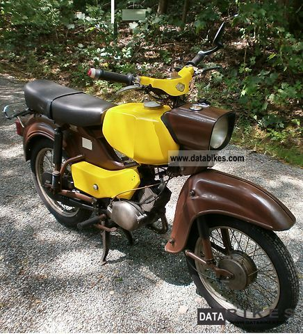 Simson  Hawk 1966 Vintage, Classic and Old Bikes photo