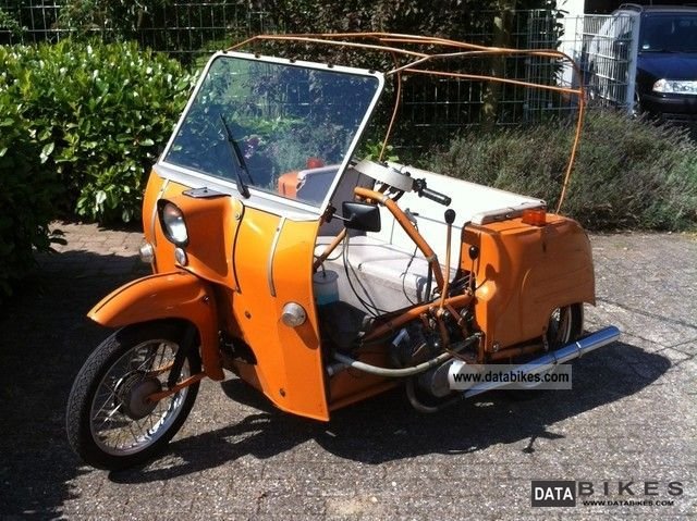 1986 Simson  DUO 4/1 Motorcycle Other photo