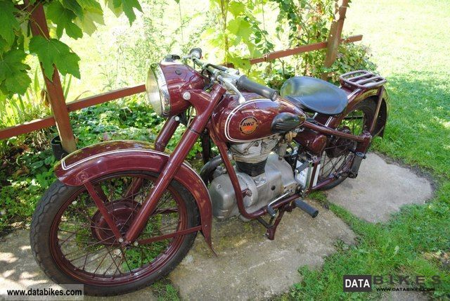 Simson  AWO D 1953 Vintage, Classic and Old Bikes photo