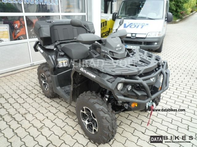 2012 Can Am  1000 Outlander XT Motorcycle Quad photo