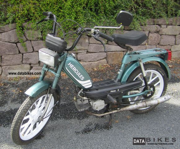 1986 Herkules  Prima 5 price 300 € negotiable Motorcycle Motor-assisted Bicycle/Small Moped photo