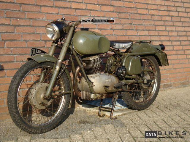 1958 Gilera  G 175 Militare Motorcycle Motorcycle photo