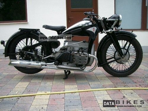 Zundapp  Zundapp K800 1942 Vintage, Classic and Old Bikes photo