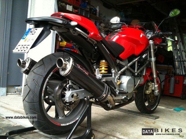 2005 Ducati  Monster 800 Motorcycle Motorcycle photo