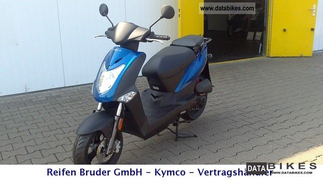 2012 Kymco  Agility MMC 50 Motorcycle Scooter photo