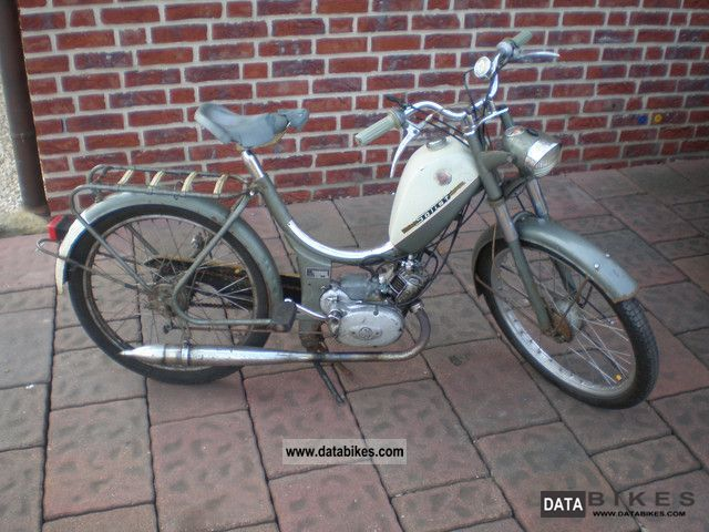 1966 Sachs  Rixe soloist MF RS 50 Motorcycle Motor-assisted Bicycle/Small Moped photo