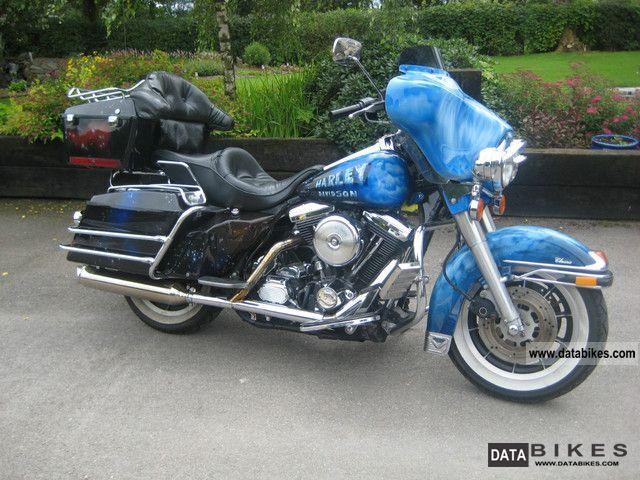 1990 Harley Davidson  FLHTC Motorcycle Chopper/Cruiser photo