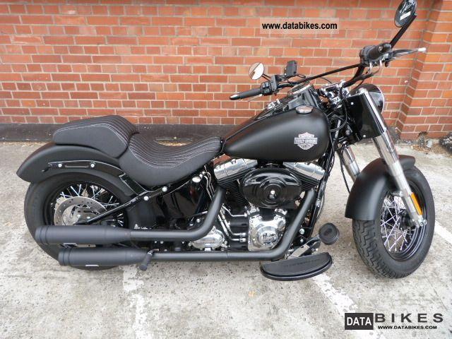 2012 Harley Davidson  FLS Softail Slim Motorcycle Chopper/Cruiser photo