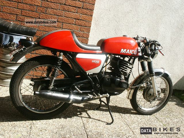 Maico  MD 250 1974 Vintage, Classic and Old Bikes photo