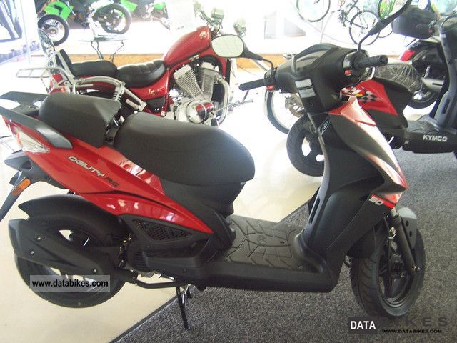 2012 Kymco  Agility RS50 4T Motorcycle Scooter photo