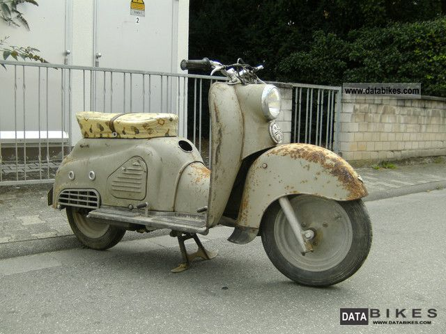 1955 Zundapp  Zundapp Bella 201 Motorcycle Motorcycle photo