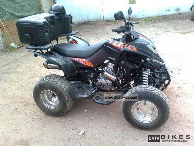 2007 CPI  250 XS Motorcycle Quad photo