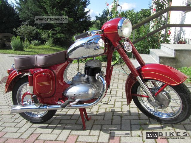 Jawa  250 1958 Vintage, Classic and Old Bikes photo