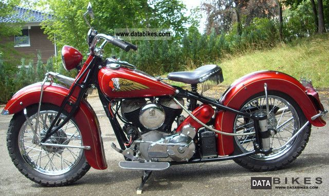 Indian  Chief 1200cc 1940 Vintage, Classic and Old Bikes photo