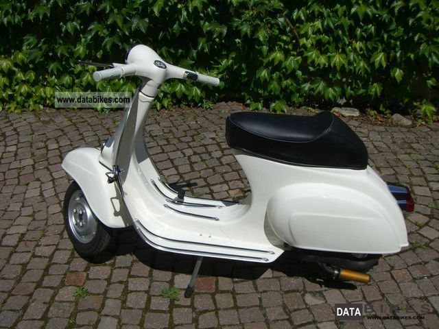 Vespa  Piaggio 125 1967 Vintage, Classic and Old Bikes photo
