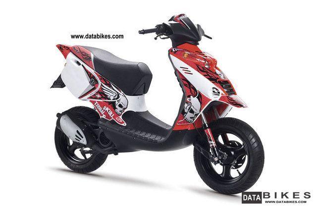 2012 Beta  Ark Skul Motorcycle Scooter photo
