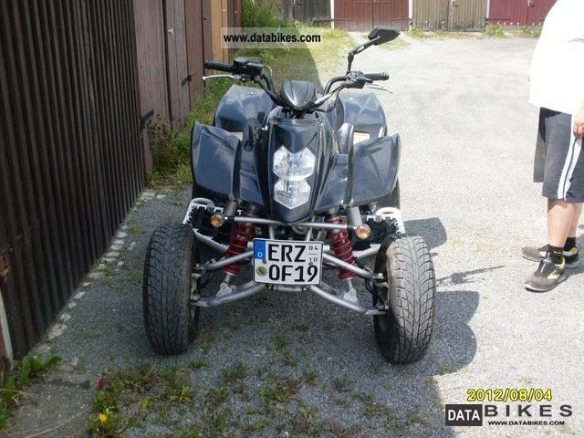 2009 Hyosung  TE450 Quad Motorcycle Quad photo